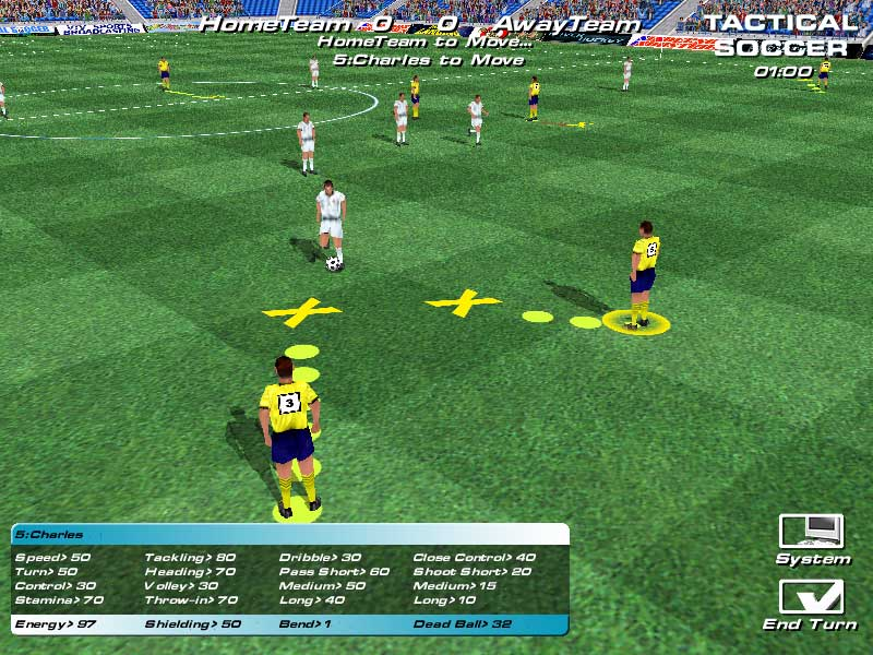 Exciting 3D Soccer game.